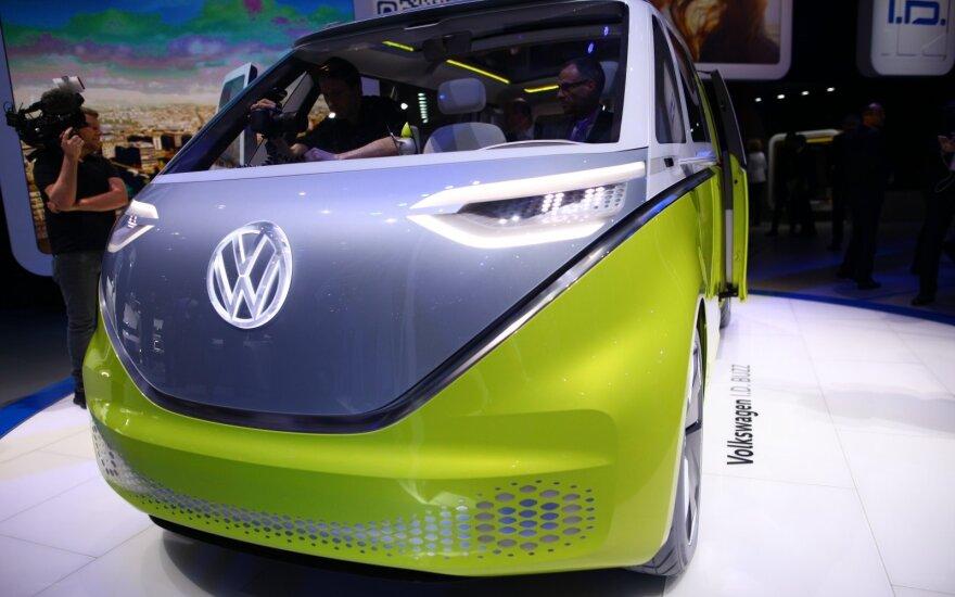 """Koncepcinis """"Volkswagen I.D. Buzz"""""""