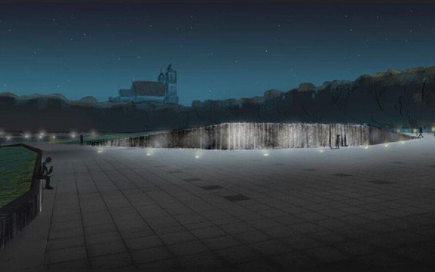 Lukiškių Square design by Andrius Labašauskas