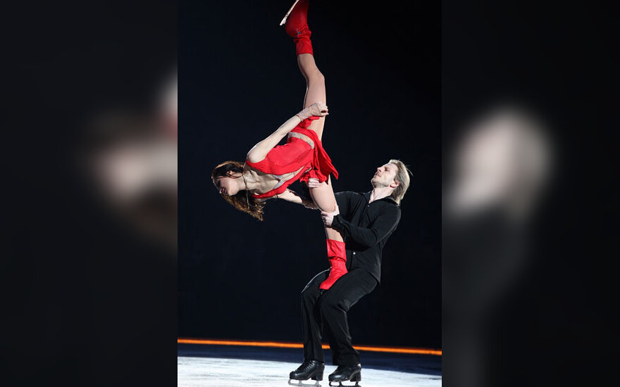 Margarita Drobiazko ir Povilas Vanagas