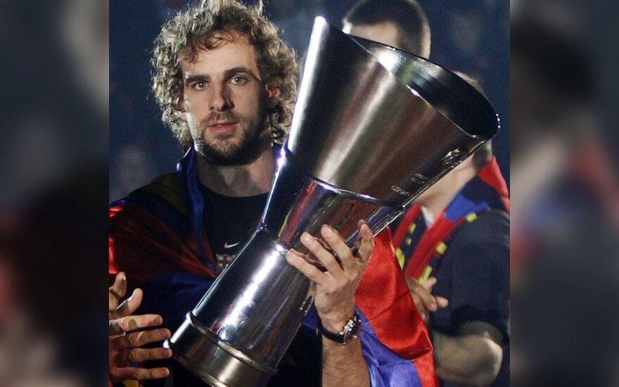 Rogeris Grimau laiko Eurolygos trofėjų