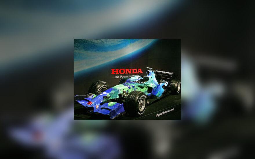 """Naujojo """"Honda"""" bolido pristatymas"""