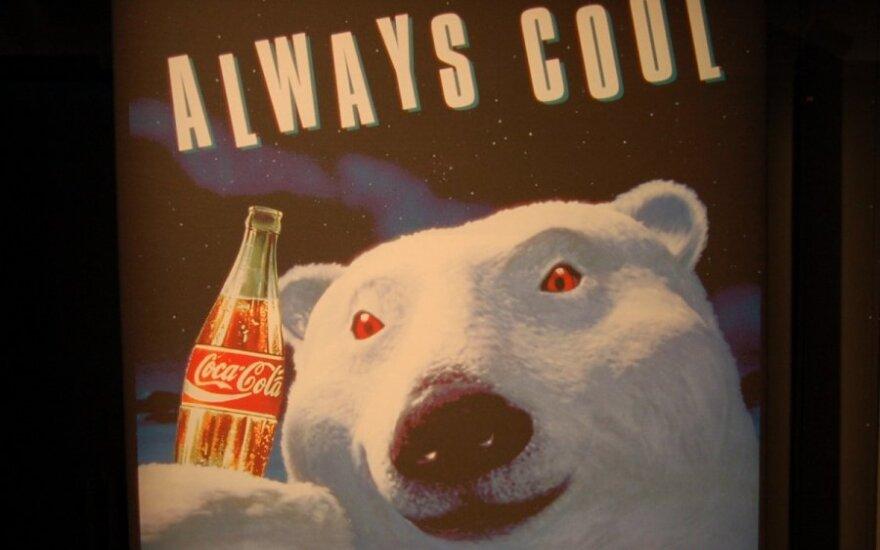 Taip atrodė pirmosios kompanijos reklamos su baltaisiais lokiais