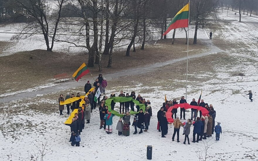 Kaune lampėdiškiai šventė Lietuvos valstybės šimtmetį