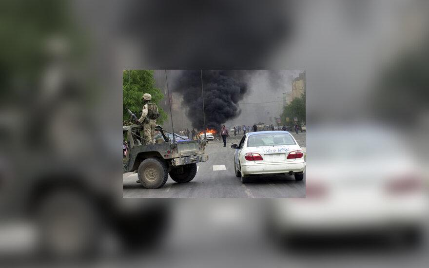 Sprogimas prie Bagdado viešbučio