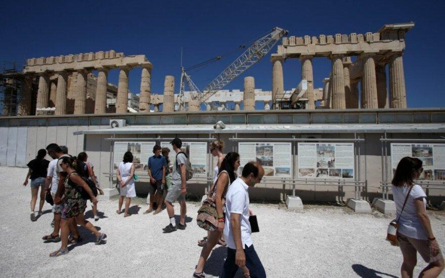 Graikija, turistai