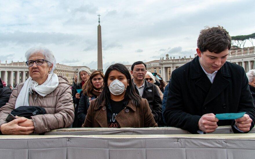 Italijoje kilo transporto chaosas, vyriausybei dėl viruso pavojaus paskelbus karantiną