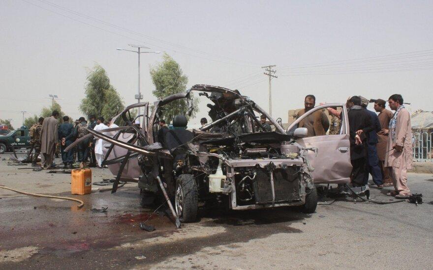 Talibų išpuolis Afganistane
