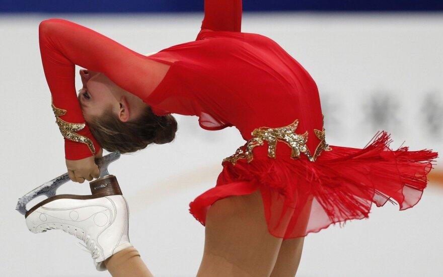 I. Janulevičiūtė čiuožėja tapo, kai per TV pamatė M. Drobiazko ir P. Vanagą