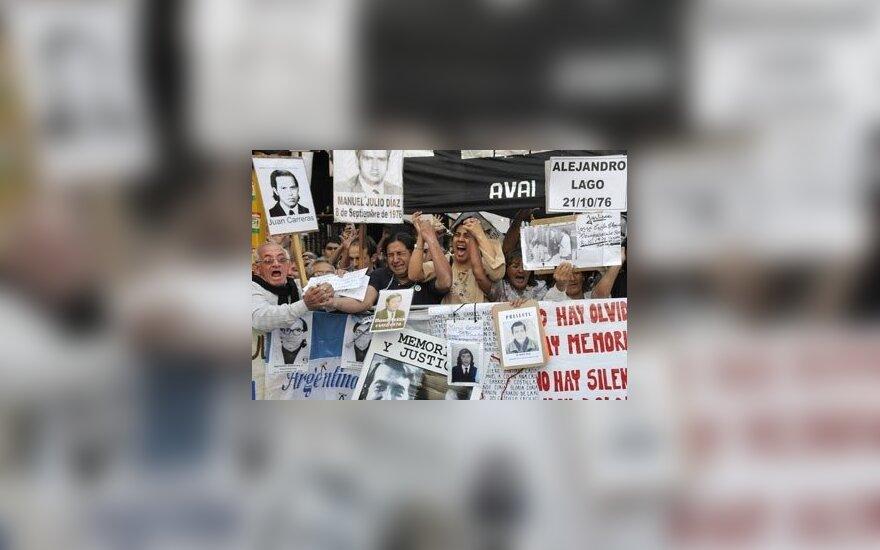Argentinos vyriausybė didins minimalų atlyginimą