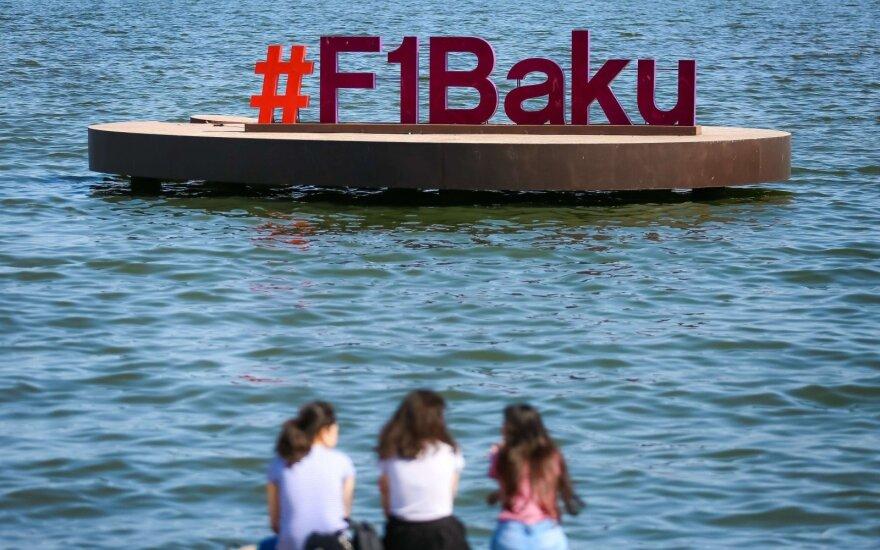 """""""Formulės-1"""" GP etapas Azerbaidžano sostinėje Baku"""
