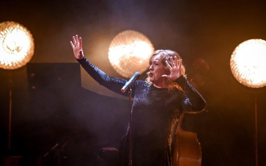Rosita Čivilytė surengė kalėdinį koncertą /Foto: V. Graužinytė