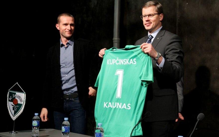 Kauno mero Andriaus Kupčinsko pristatyti planai neišsipildys