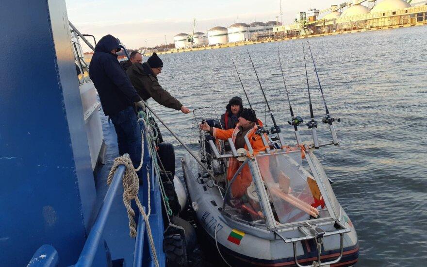Vykdoma verslinės ir mėgėjų žvejybos Baltijos jūroje kontrolė