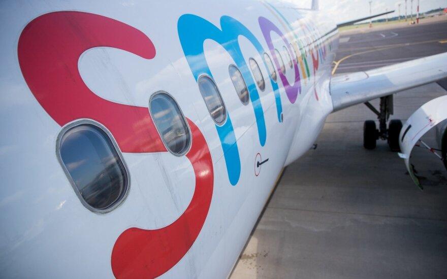 """Vienam """"Small Planet Airlines"""" lėktuvui uždrausta išskristi iš Vilniaus oro uosto"""