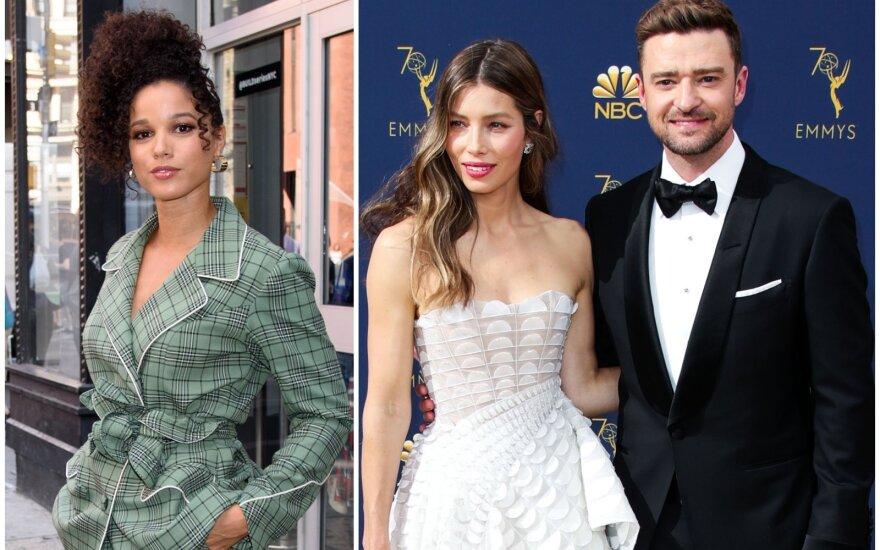Alisha Ena Wainwright, Justinas Timberlake'as ir Jessica Biel