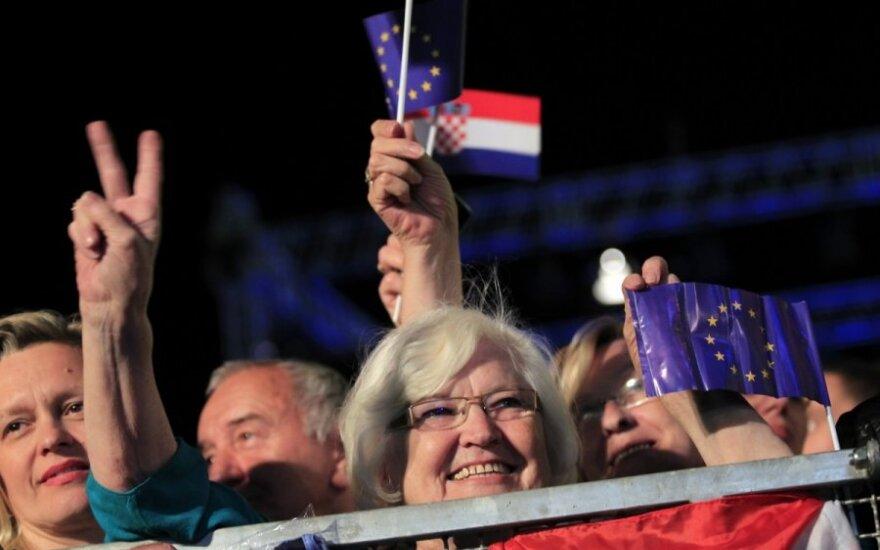 Kroatija įstojo į ES