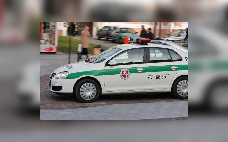 Policija sustiprins eismo kontrolę Kauno apskrityje