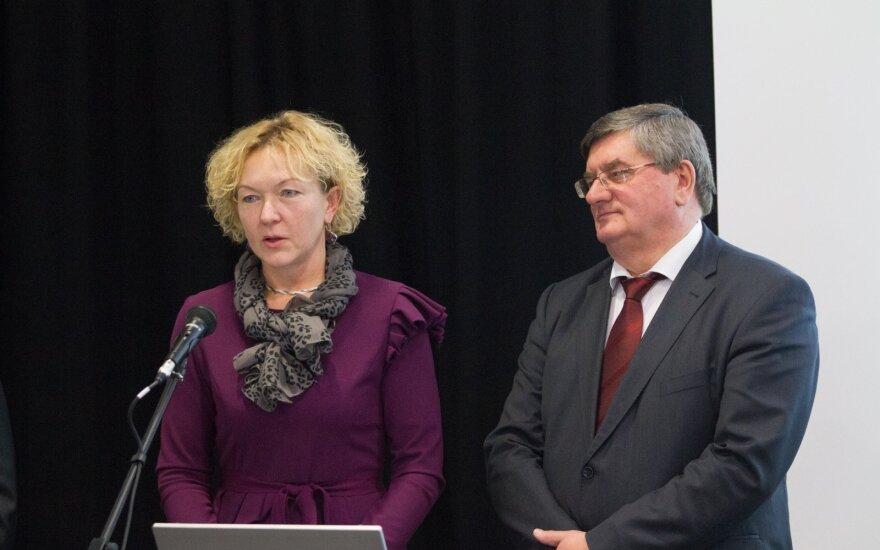 Sigita Rudėnaitė ir Sigitas Gurevičius