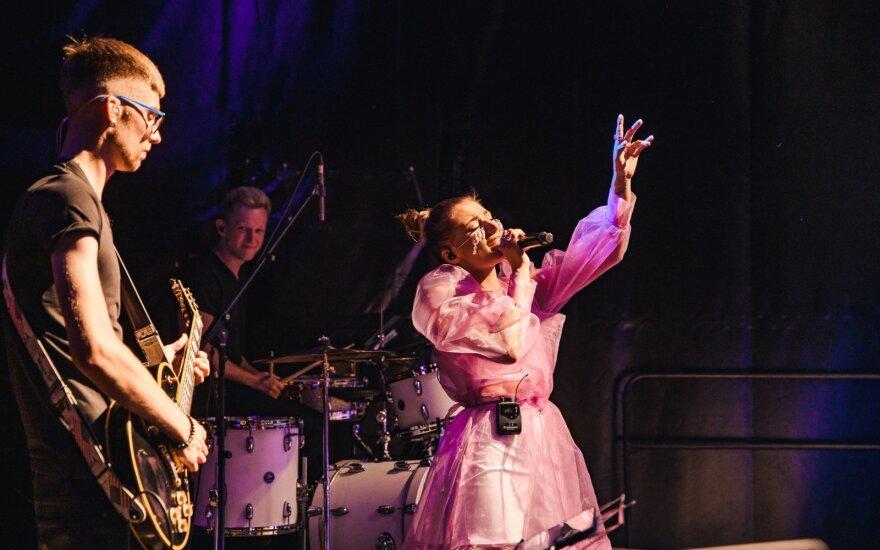 Jessicos Shy koncertas Vilniuje sutraukė beveik tūkstantį gerbėjų