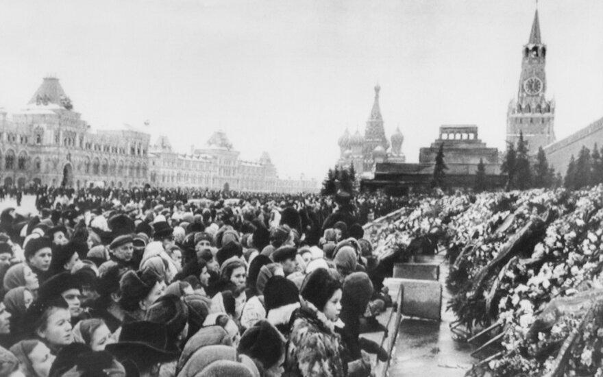 Vaizdų, matytų Stalino mirties dieną, negali pamiršti iki šiol