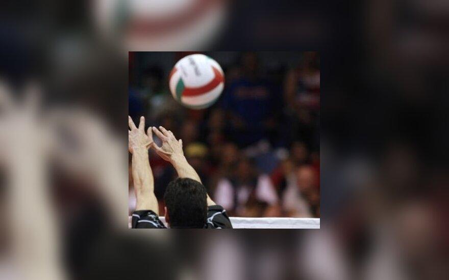 Lietuvos jaunieji tinklininkai pergale baigė turnyrą Rygoje