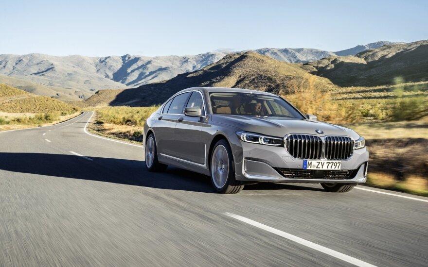 Ženevos automobilių parodoje BMW pristato išskirtinį superautomobilį