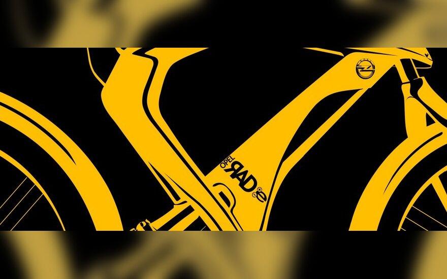 Opel elektrinio dviračio užuomina