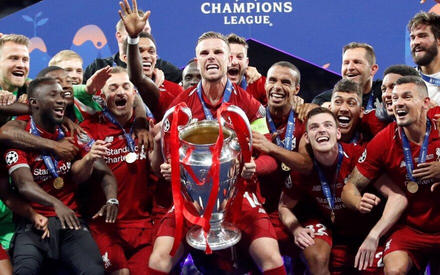 "Čempionų lygos finale – ""Liverpool"" triumfas"