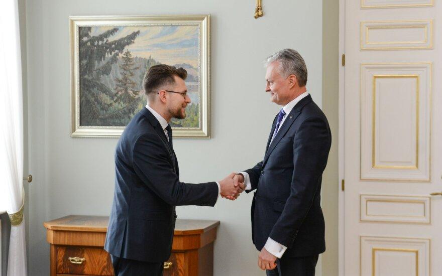 Nausėda atsisakė Savicką skirti ministru