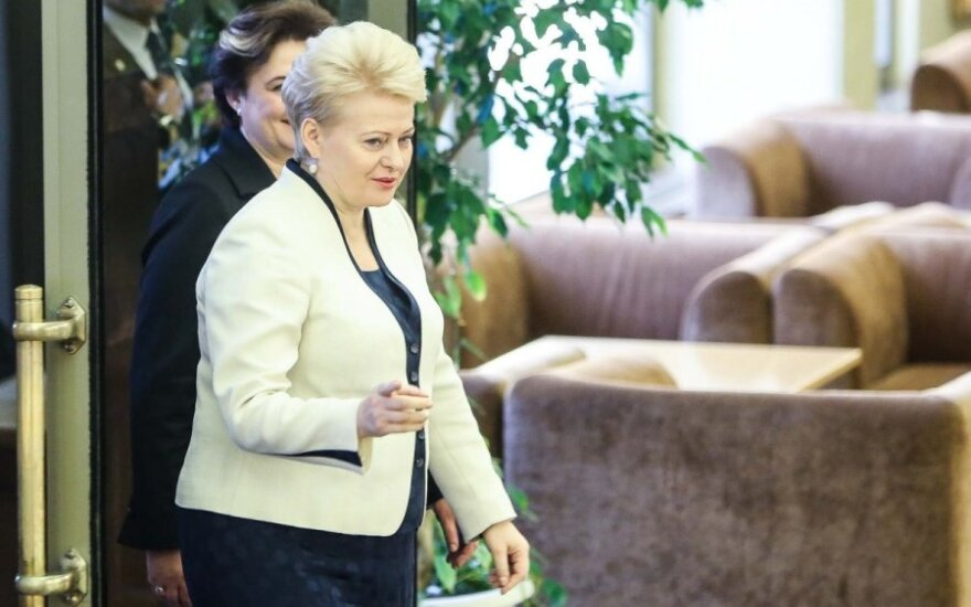 """President Grybauskaitė: Lithuania must protect itself from """"unfriendly investments"""""""