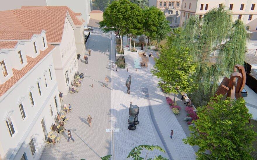 """""""Vilniaus planas"""" vizualizacija"""