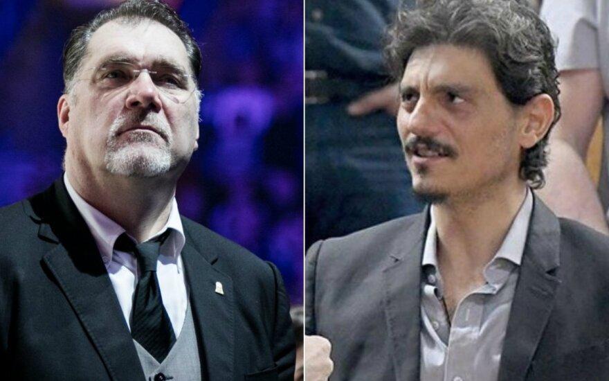 Arvydas Sabonis, Dimitris Giannakopoulas
