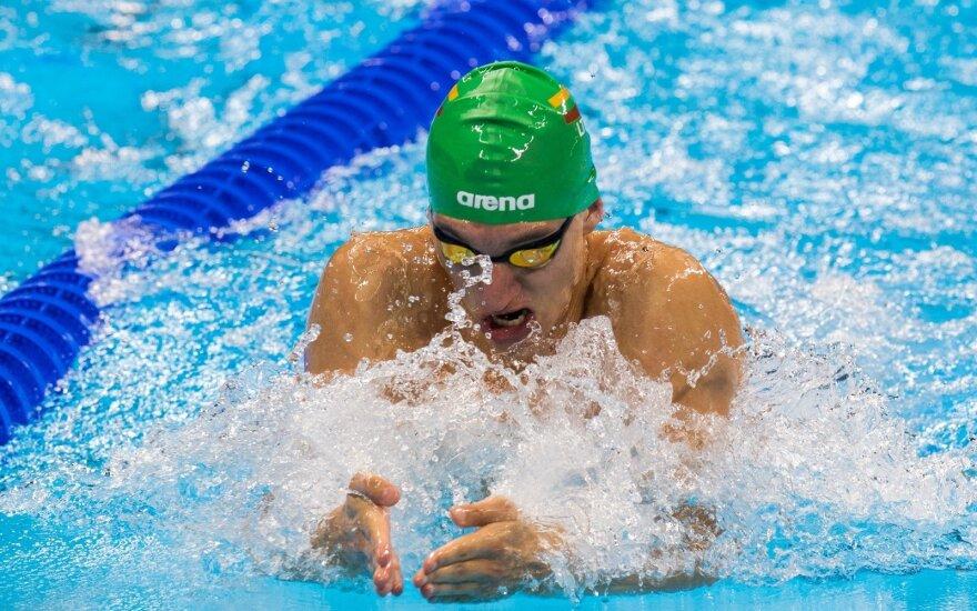 Rumunijos čempionate Lietuvos plaukikai laimėjo dar du aukso medalius