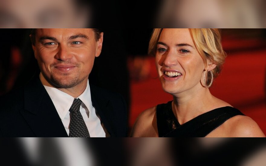 Leonardo DiCaprio ir Kate Winslet