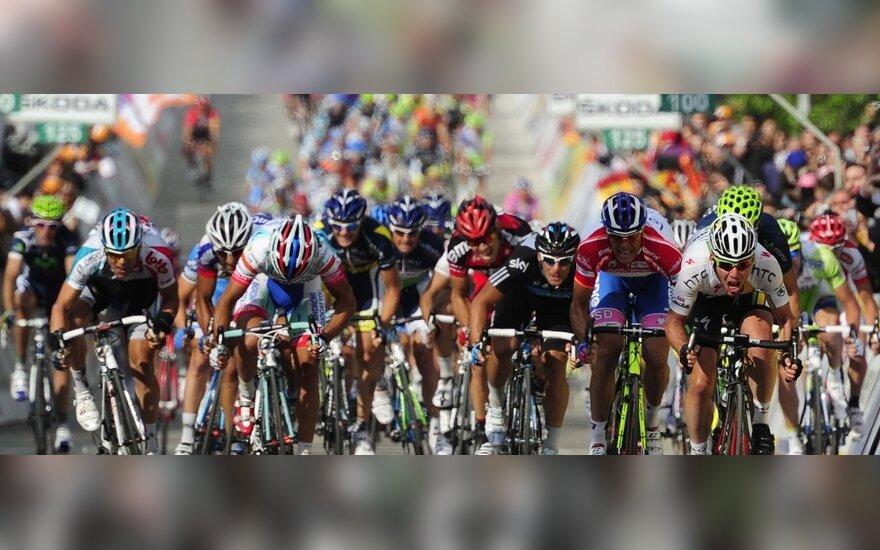 """""""Giro d'Italia"""" dviratininkų lenktynės"""