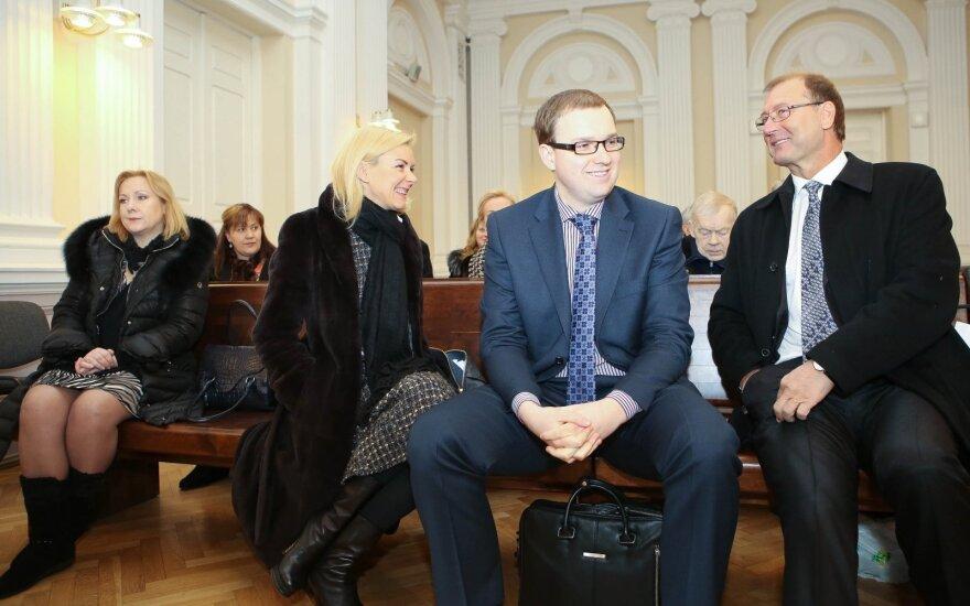 Defendants in the Labour Party case: Marina Liutkevičienė, Vitalija Vonžutaitė, Vytautas Gapšys, Viktor Uspaskich