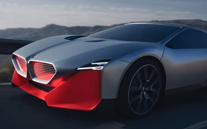 """""""BMW Vision M Next"""" / Video stop kadras"""