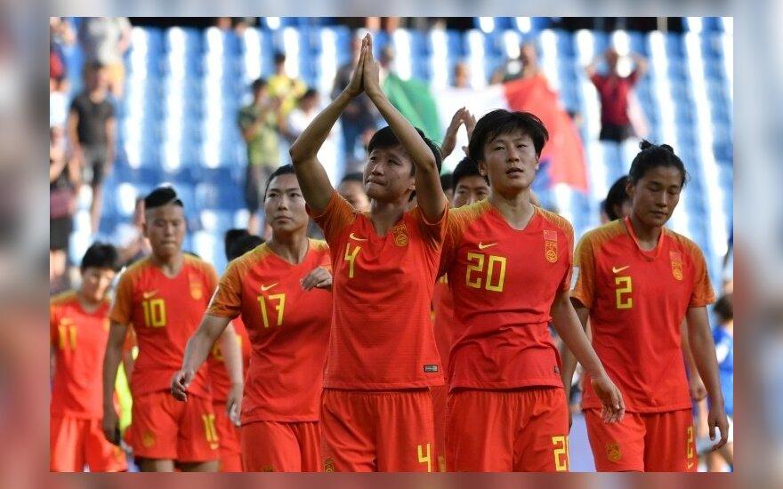 Kinijos futbolo moterų rinktinė