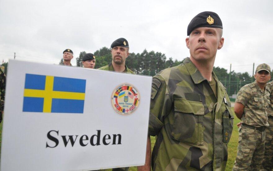 Swedish soldiers