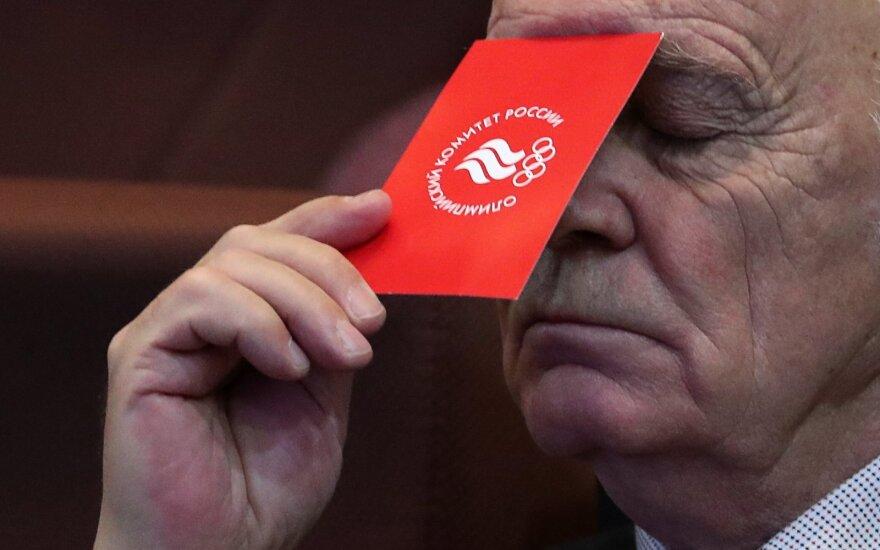 Rusai puola WADA sprendimą: tai – nesąžininga konkurencija