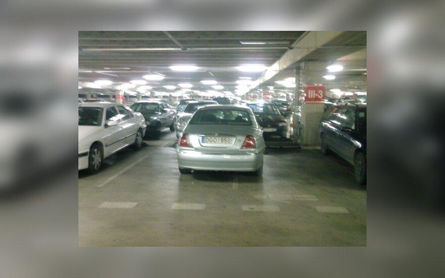 """Rover 75 Kauno """"Akropolyje"""". Skaitytojo nuotr."""