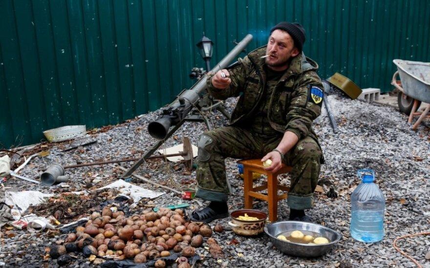 """""""Dnepr1"""" karys skuta bulves"""