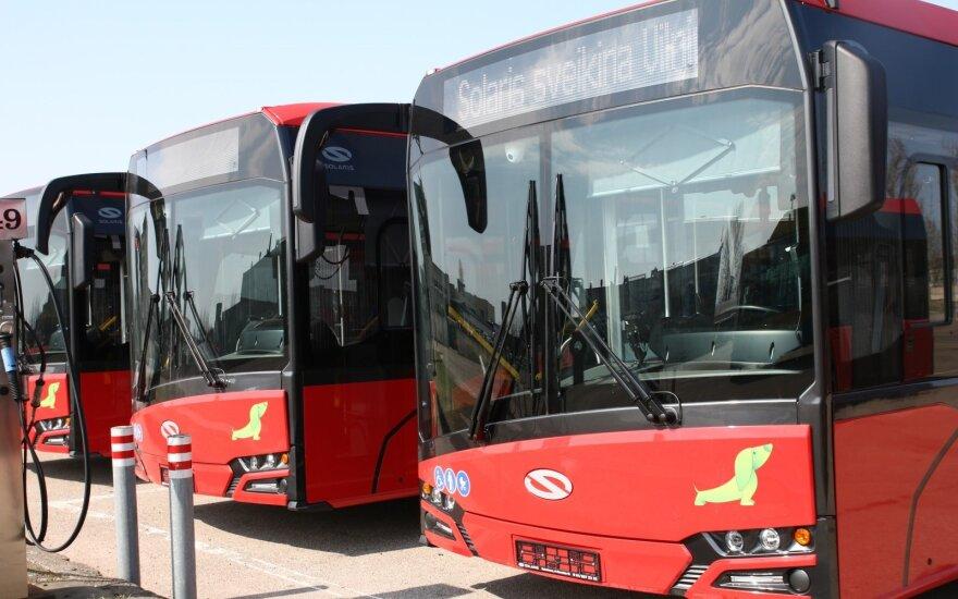 Tauragė pirmoji Lietuvoje pirks tris elektrinius autobusus