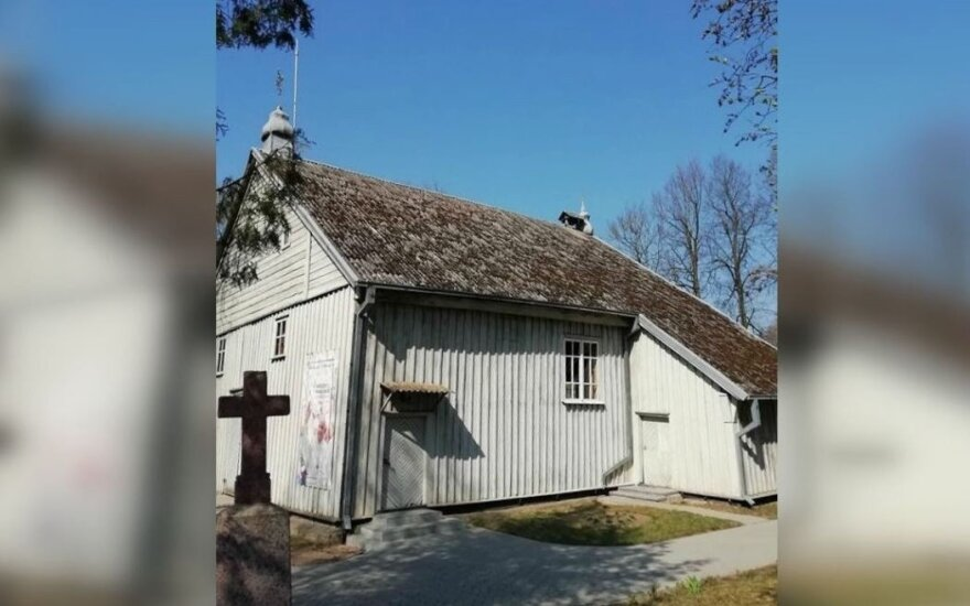 Pajieslio bažnyčia // Bendruomenės nuotr.
