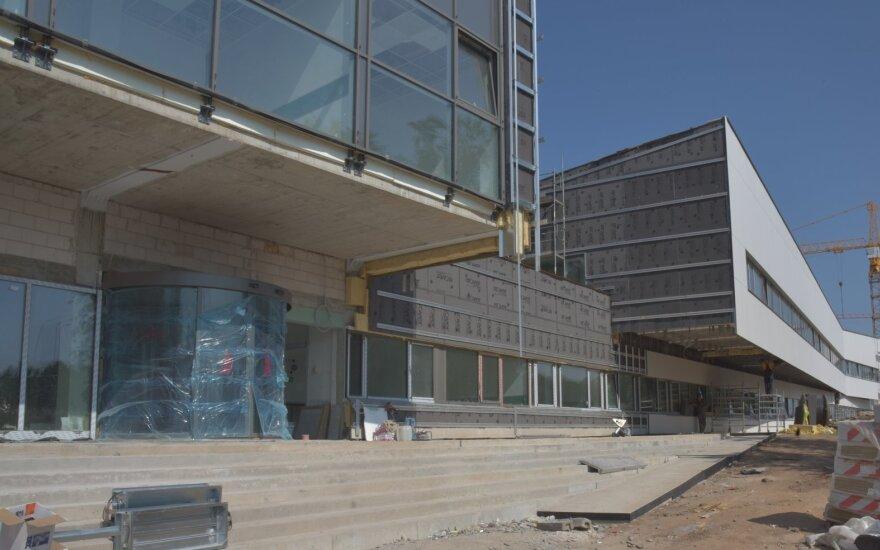 Netrukus bus atidarytas naujasis Santaros klinikų pastatas infekcinėms ligoms ir tuberkuliozei gydyti
