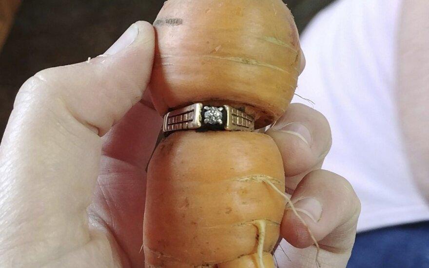 Kanadietė pamestą sužadėtuvių žiedą po 13 metų rado netikėtoje vietoje