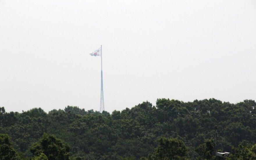 Pietų Korėja persigalvojo – toliau dalinsis žvalgybos informacija su Japonija