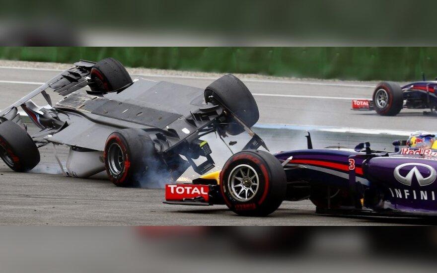 Felipe Massa ir Danielis Ricciardo
