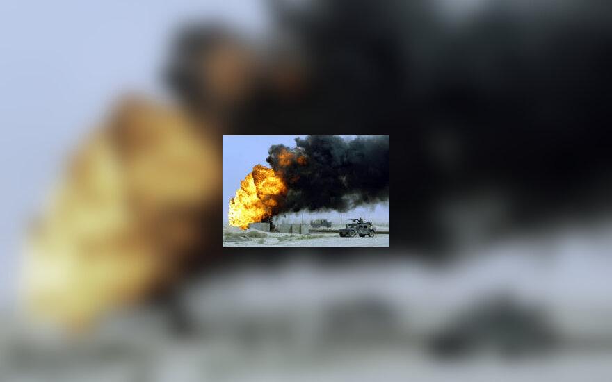 Dega naftos gręžinys Irake