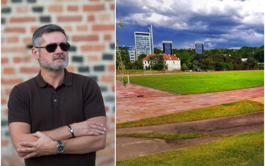 Paulius Malžinskas, LEU stadionas